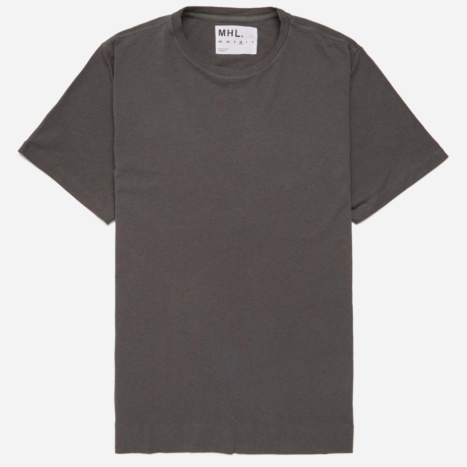 MHL Cotton Linen Jersey Basic T-shirt