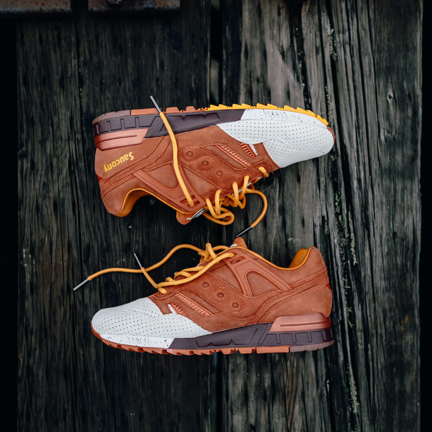 Saucony Originals – Pumpkin Spice Grid SD