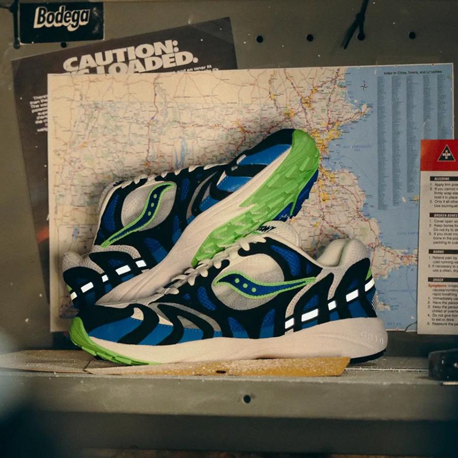 Saucony x Bodega Grid Azura 2000