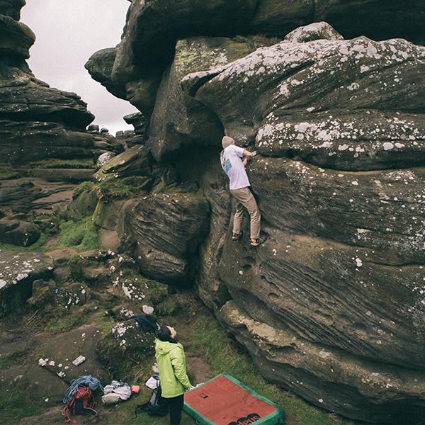 Days Off: Climbing At Brimham Rocks