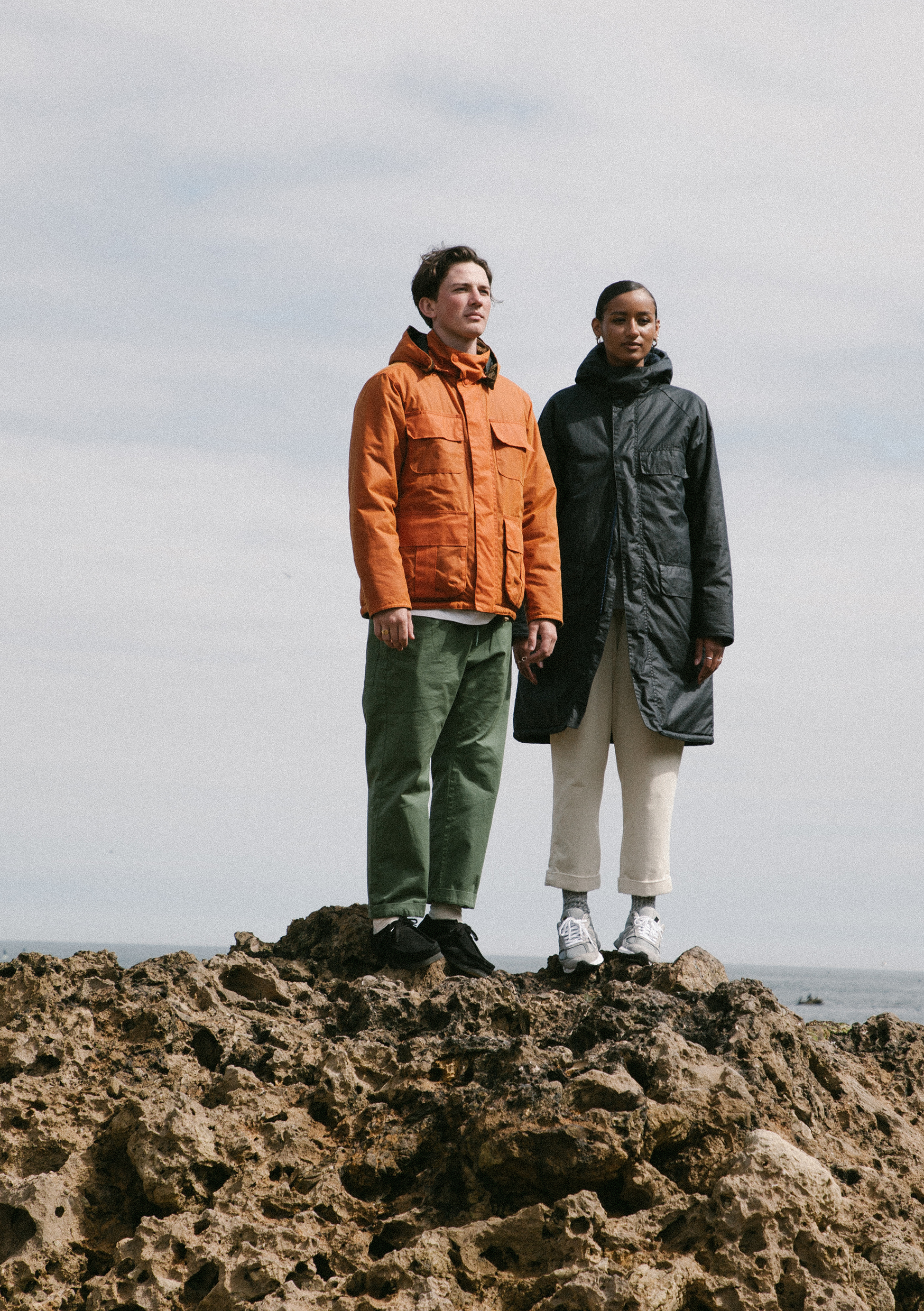 barbour norse projects shoot by hip aw20 at marsden bay