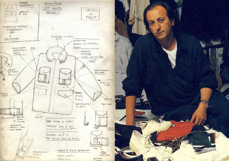 Founder of C.P. Company Massimo Osti (1944-2005)
