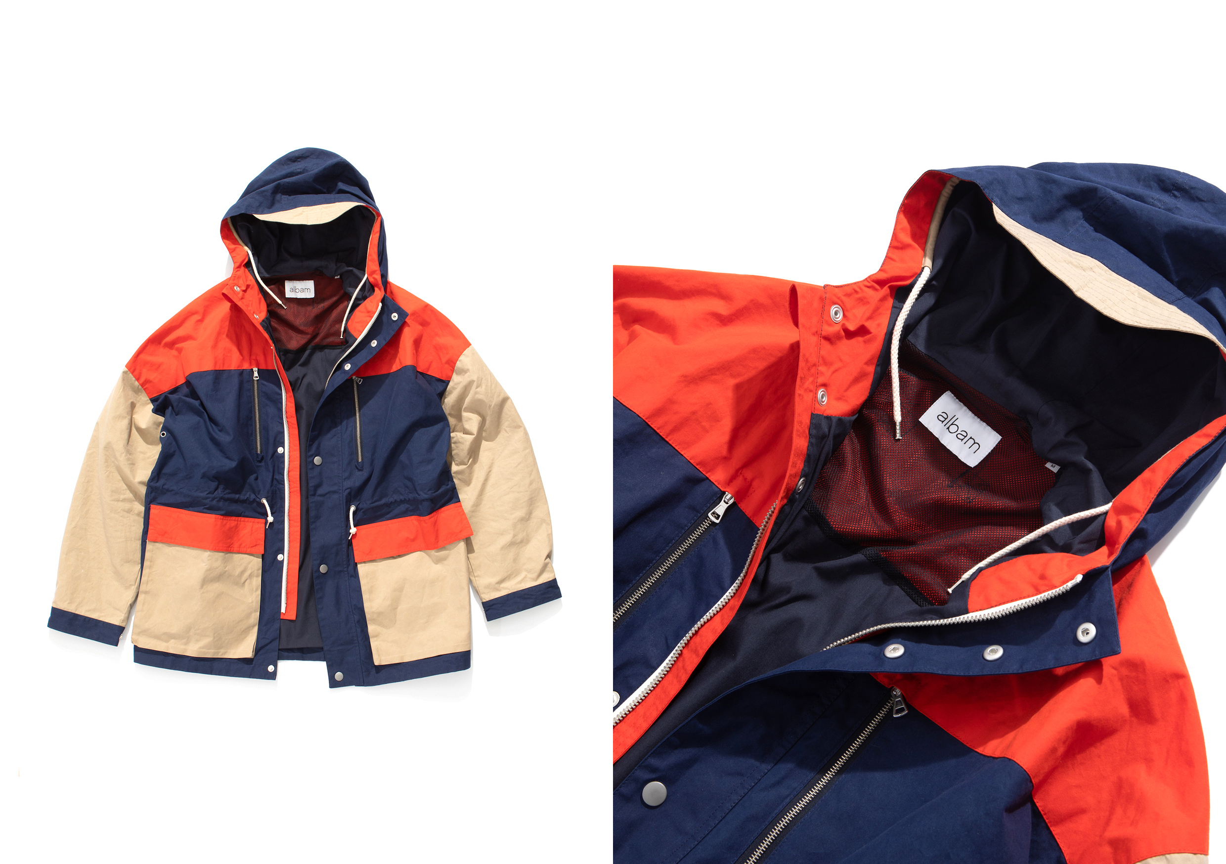 Albam AW20 Collection At HIP sweatshirt parka
