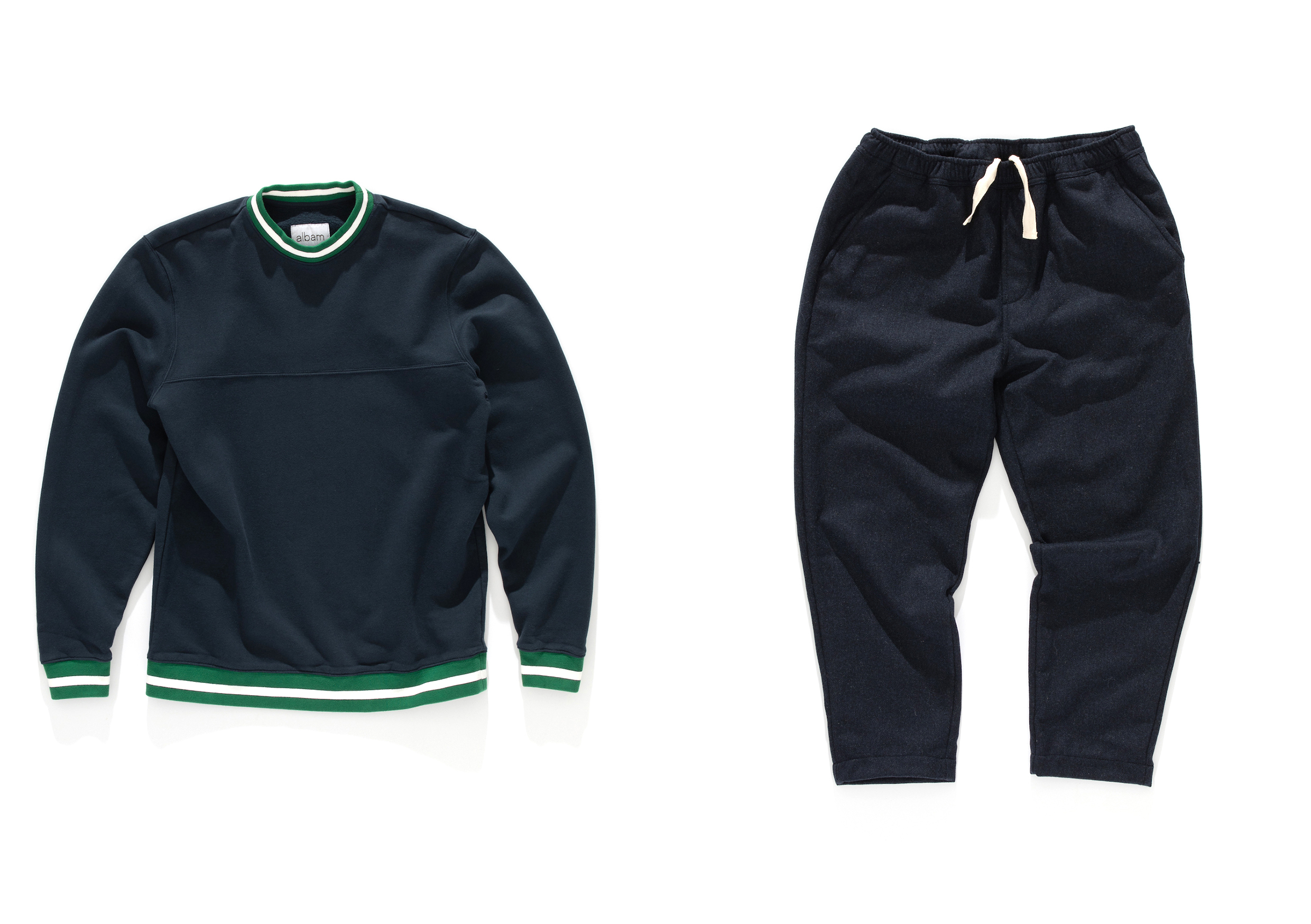 Albam AW20 Collection At HIP sweatshirt pants