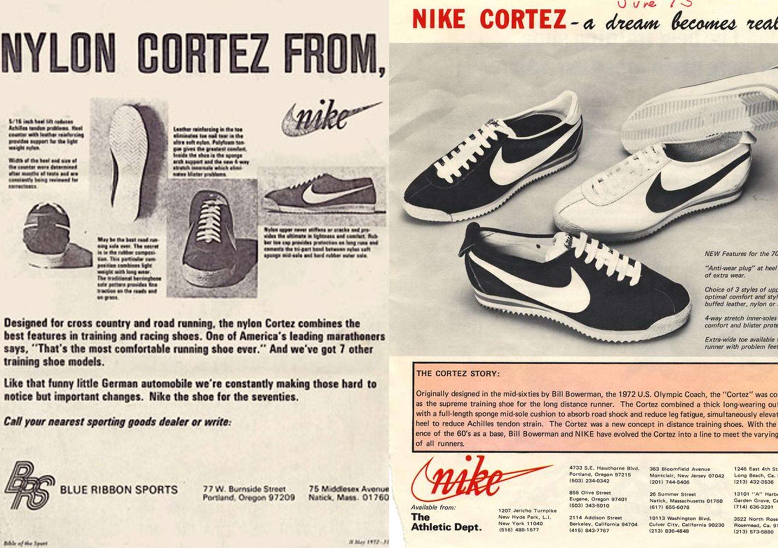Nike Cortez Vintage Advert HIP