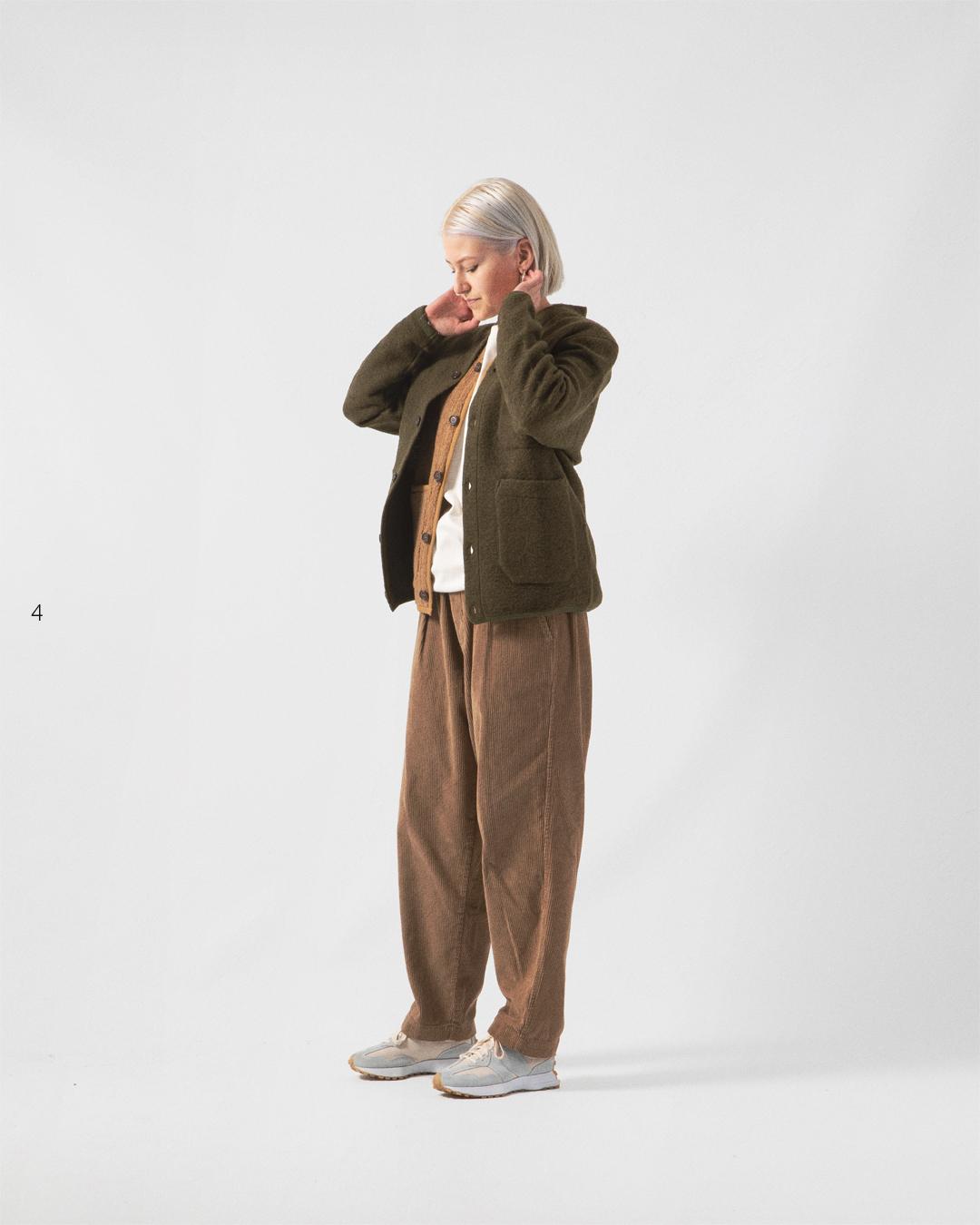 HIP Staff Picks: Universal Works AW20 Wool Fleece Cardigan