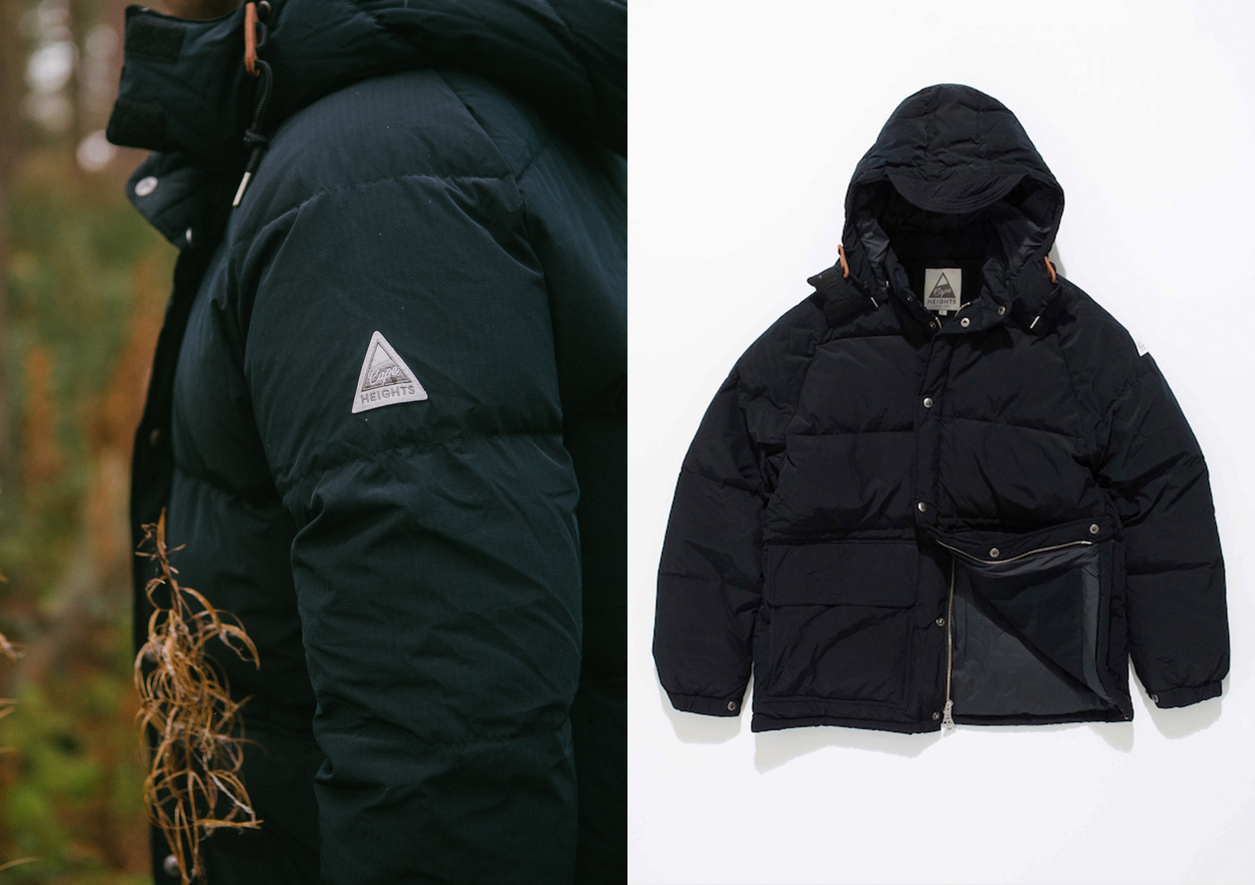 Cape Heights AW20 Collection At HIP outdoors lookbook