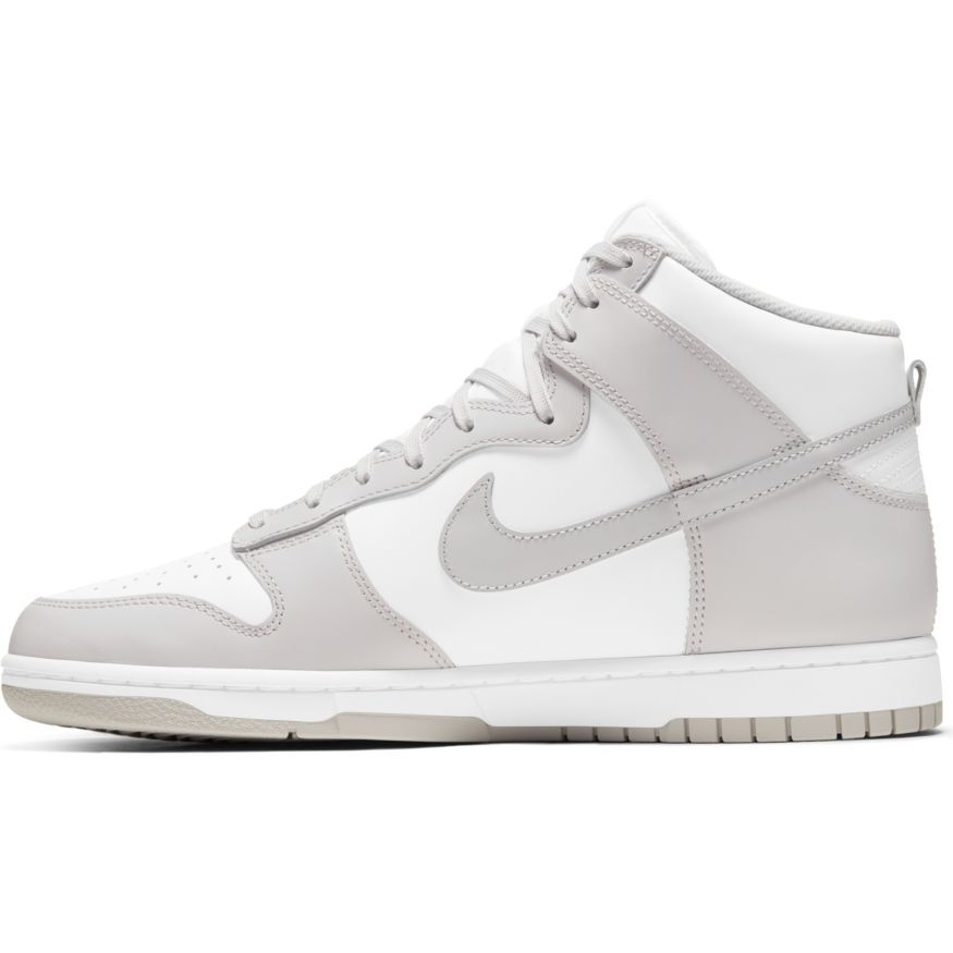 Nike Dunk Hi Retro 'Vast Grey & White'