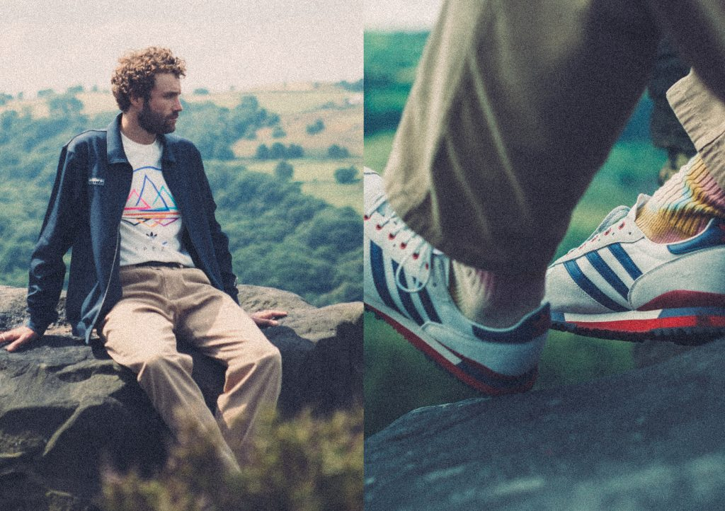 adidas SPEZIAL SS21 Collection jacket trainers t-shirt