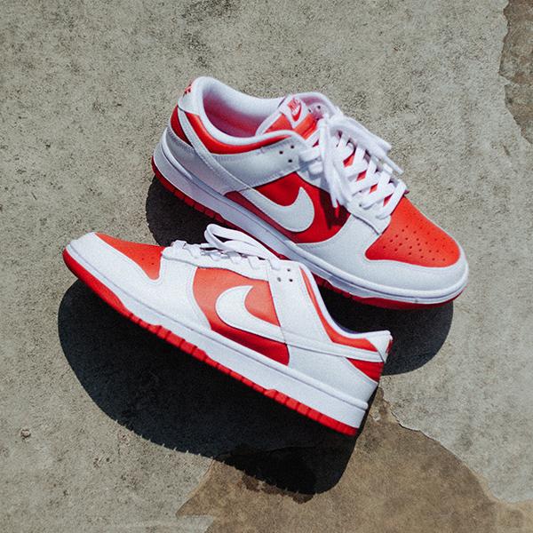 Nike Dunk Low Retro 'University Red & White'