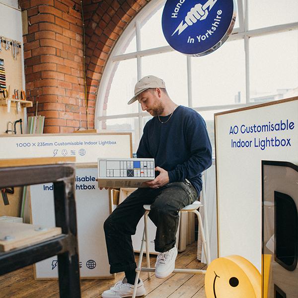 Community Culture: Light A Box Leeds – Reebok x Eames