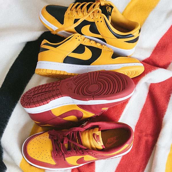 Nike Dunk Low Retro 'Goldenrod' & 'Midas Gold'
